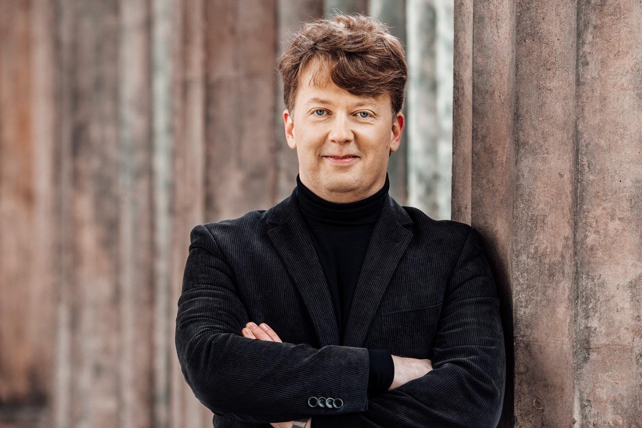 Businessfotos fŸr Dirigent Matthias Foremny in Berlin.
