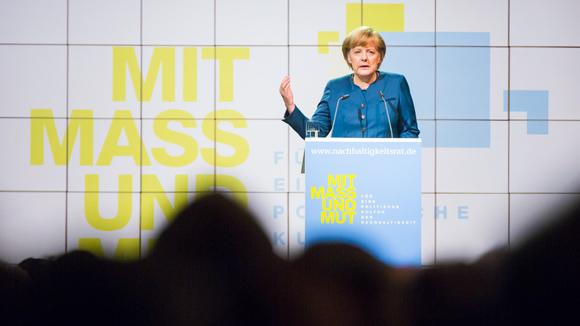 Nachhaltigkeitsrat mit Bundeskanzlerin Merkel