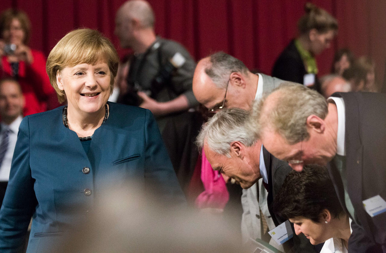 Eventfotograf-Berlin-Merkel-Kongress-Auftritt