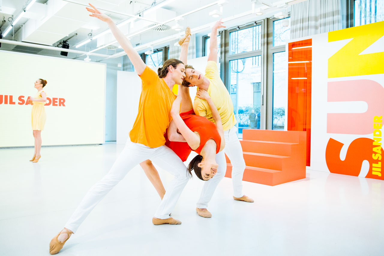 Produkt-Launch-JilSander-Choreographie