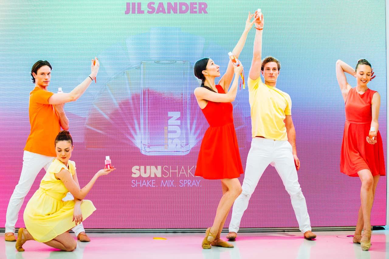 Produkt-Launch-JilSander-Taenzer