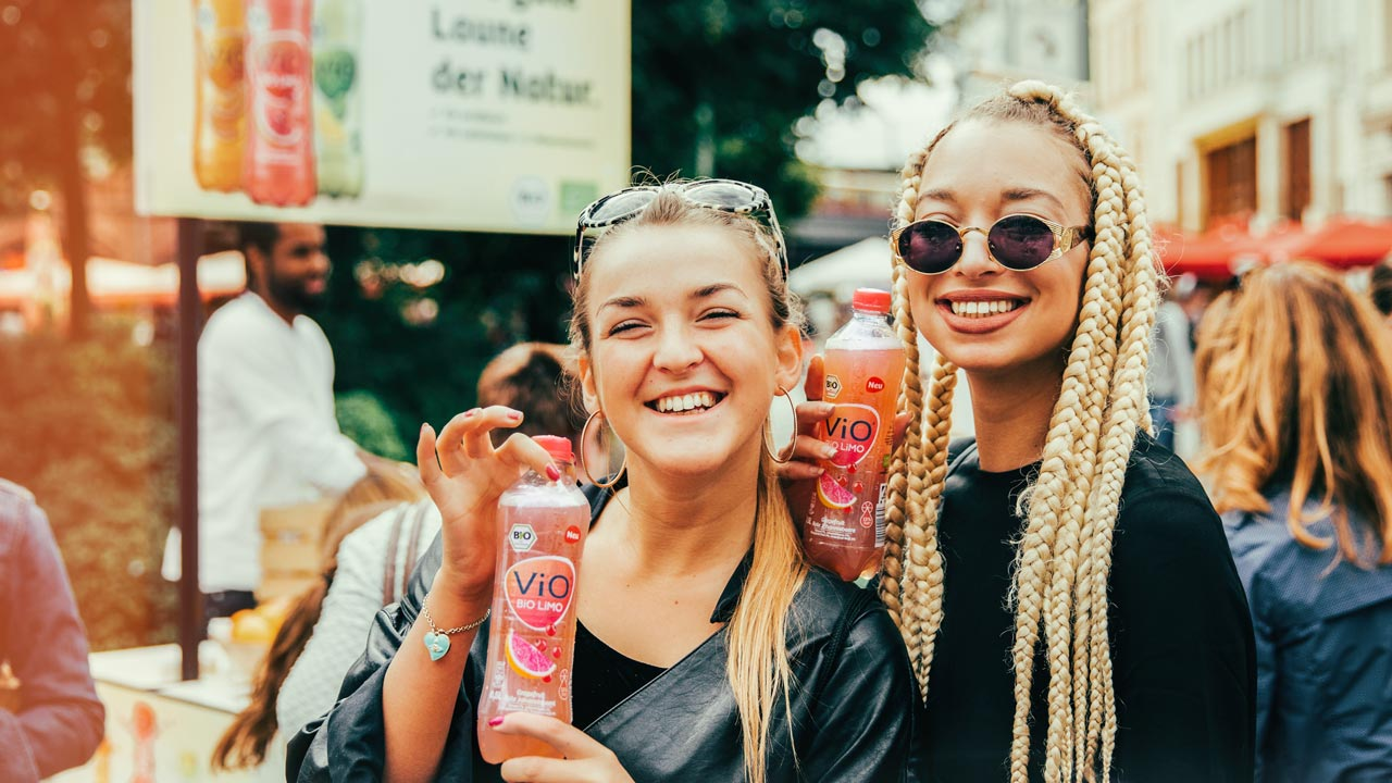 ViO-BiO-Promotion-Frauen