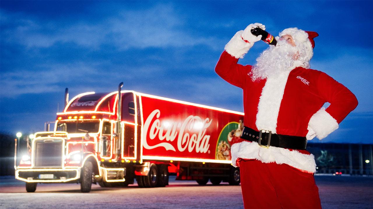 Weihnachtstruck-Santa-Claus-Coca-Cola